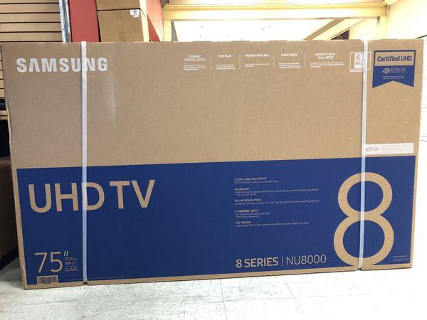 """Nu8000 75"""" Samsung Smart 4K Led Tv for Sale in Industry, CA - OfferUp"""