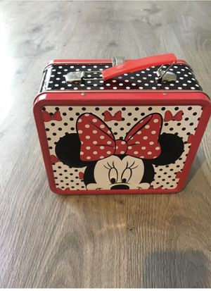 Girls Disney Minnie Mouse lunch box / tin tote - Back to school! for Sale in Apex, NC