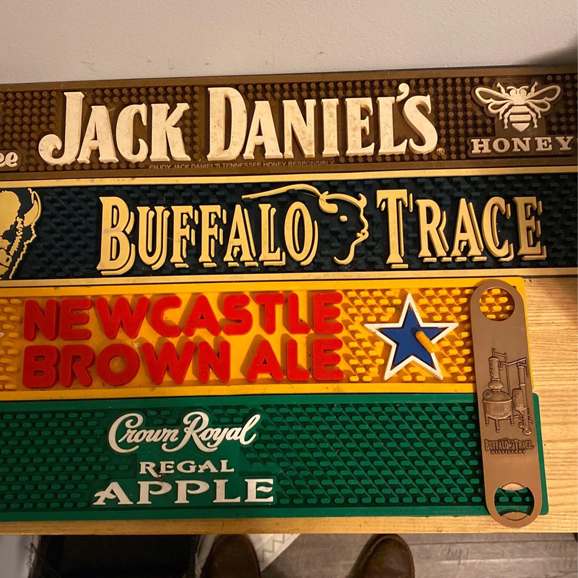 Bar Mats/ Rare Copper Buffalo Trace Bar Tool