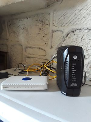 Wifi boxes with cables (best offer) for Sale in Las Vegas, NV