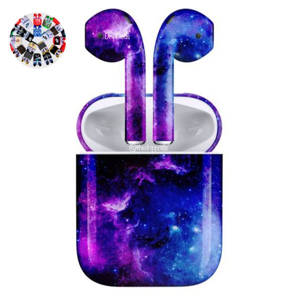 Galaxy Overdrive Custom AirPods for Sale in Anaheim, CA