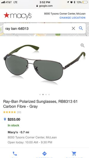 Rayban sun glasses for Sale in Springfield, VA