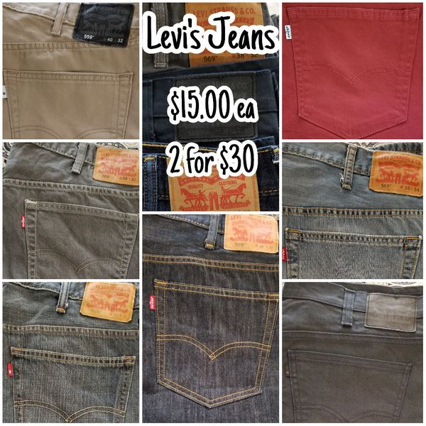 b7df2e79536 MEN LEVI JEANS for Sale in Fort Worth, TX - OfferUp