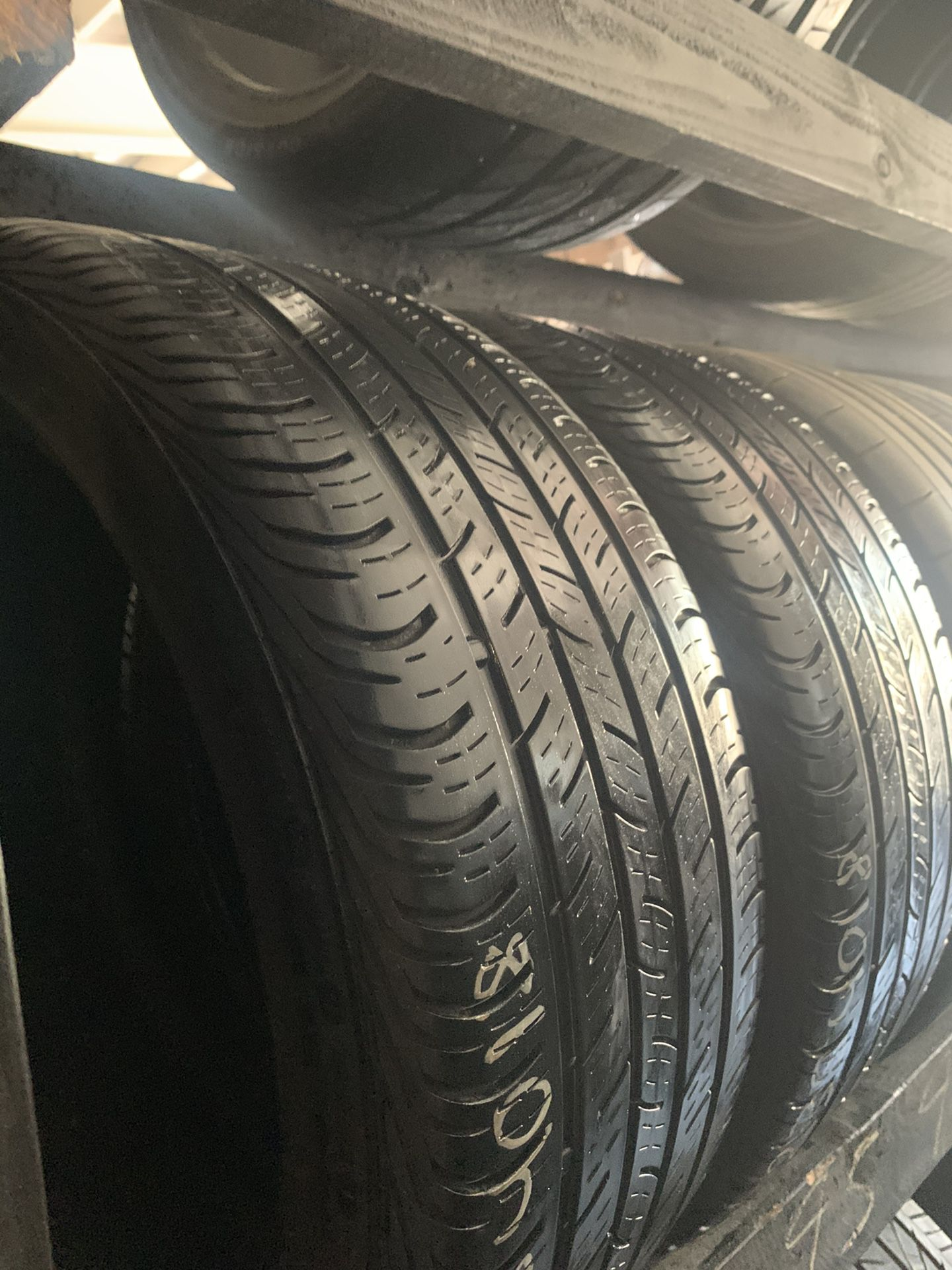 (2) 235/40R18 CONTINENTAL TIRES