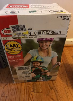 Bell child bike seat for Sale in Alexandria, VA