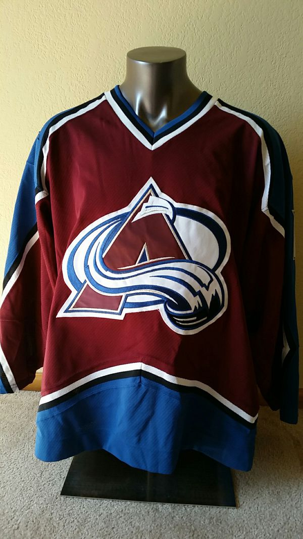 hot sale online f11ae dd3a3 Certified game-worn Colorado Avalanche jersey for Sale in Denver, CO -  OfferUp