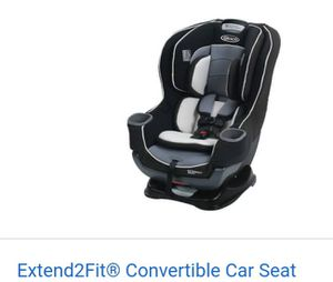Graco Extend2Fit Car Seat for Sale in East Brunswick, NJ