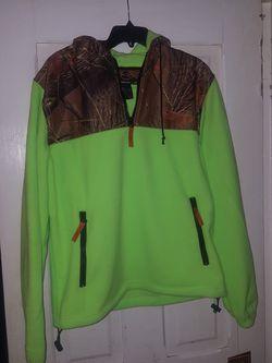 Ladies Trail crest hooded fleece Thumbnail