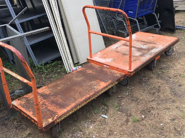 Rolling Flatbed Carts & Lumber Carts! for Sale in San ...