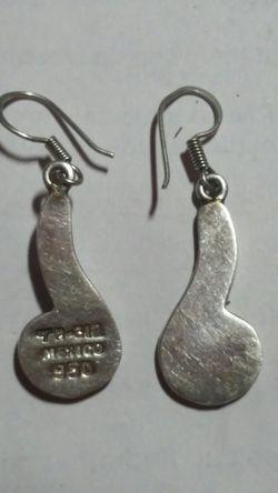 Plata 950 opals Earrings Thumbnail