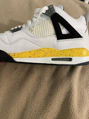 Photo Nike Air Jordan Retro 4 Iv Tour Yellow 2006 Rare Air size 10.5 (very rare ) google it