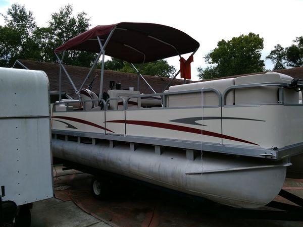 Pontoon Boat For Sale In Tavares Fl Offerup