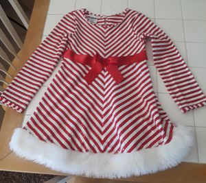 Christmas Dress~6x~Candy Cane for Sale in Denver, CO