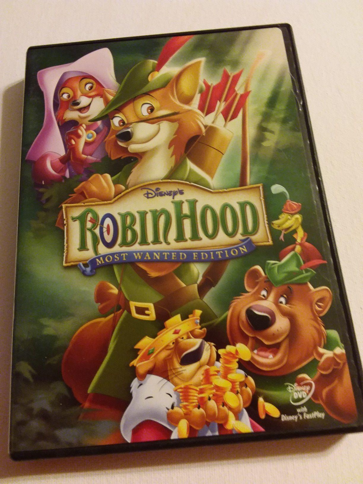 Robin Hood DVD $8.00
