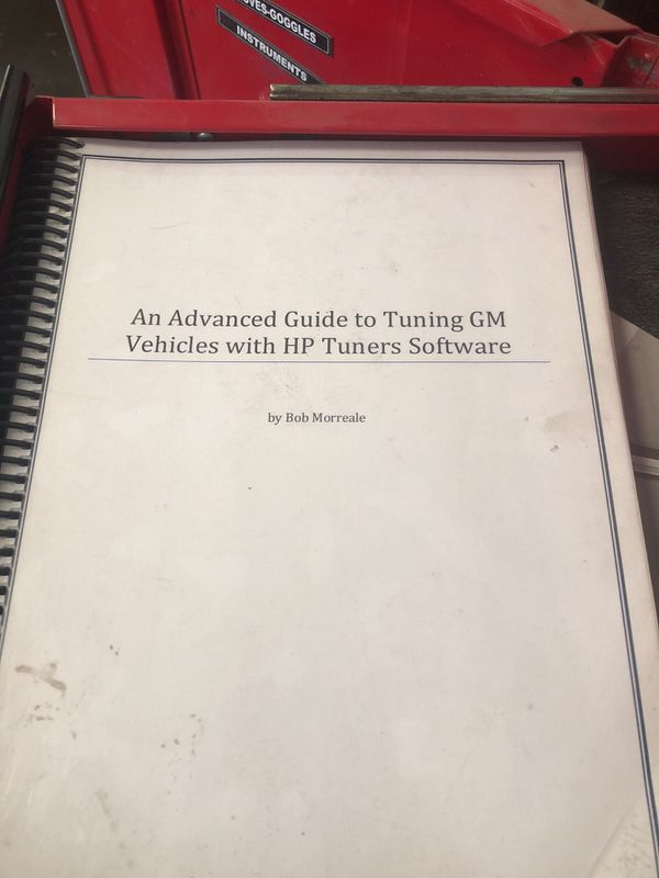 Hp tuners gm tuning training book for Sale in Bakersfield, CA - OfferUp