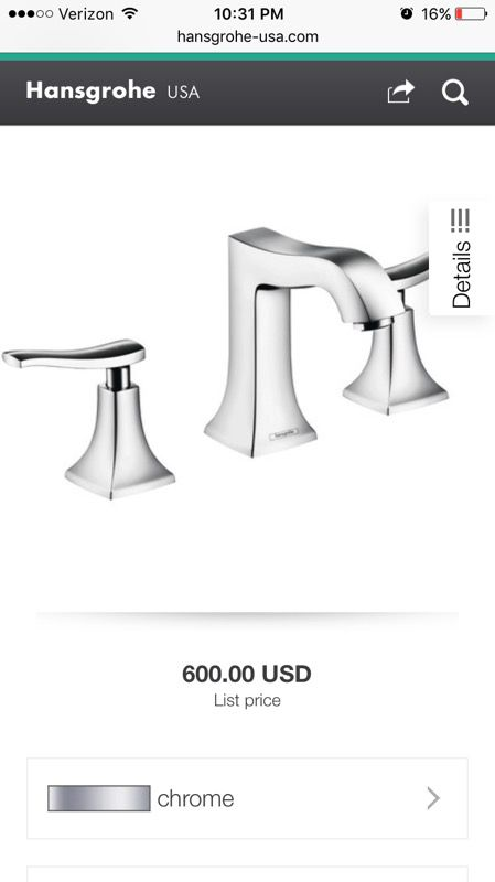 Hi end bathroom faucet Hansgrohe for Sale in Chula Vista, CA - OfferUp