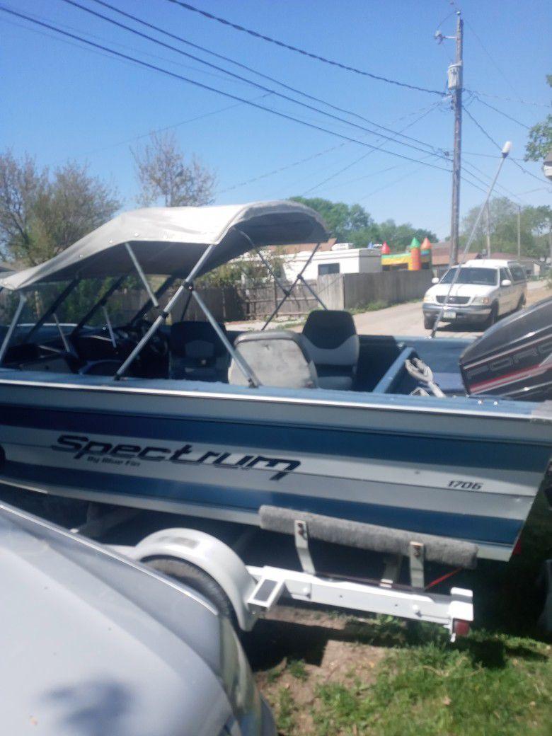 Photo Boat For Sale Open Title Blue Fin Spectrum
