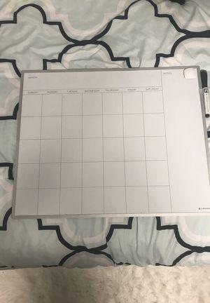 White Board Calendar for Sale in Baltimore, MD