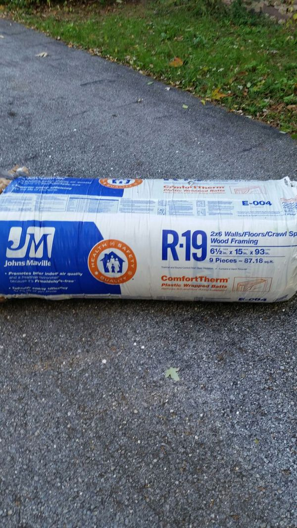 Johns Manville R19 Encapsulated Insulation