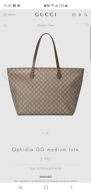 4da3926bc5ec New and Used Gucci tote for Sale in Brooklyn, NY - OfferUp