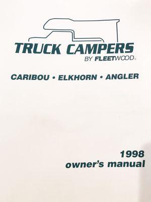 1998 Caribou Truck Camper for Sale in Sacramento, CA - OfferUp