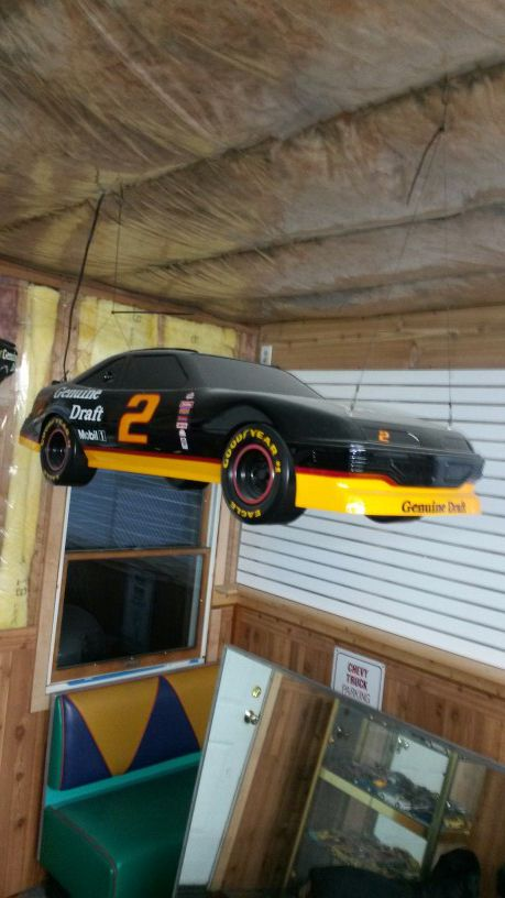 MGD Nascar Pool Table Light MINT For Sale In Oswego IL OfferUp - Nascar pool table light