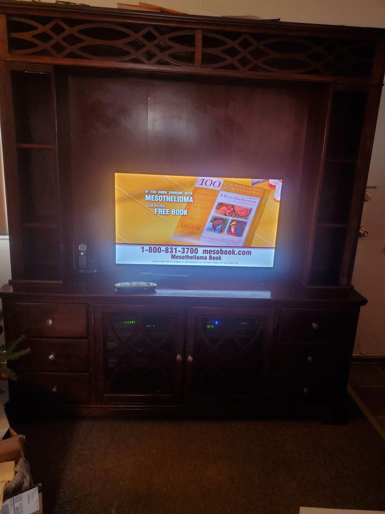 Large Wall Unit From Bobs Discount Furniture Used