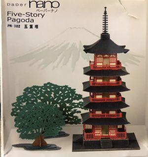 Paper Nano 5 Story Pagoda for Sale in Manassas, VA