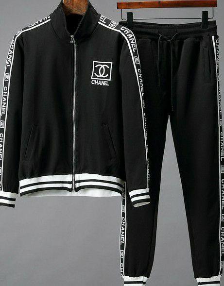 2018 Chanel Mens Blackwhite Sweatsuit For Sale In Matthews Nc