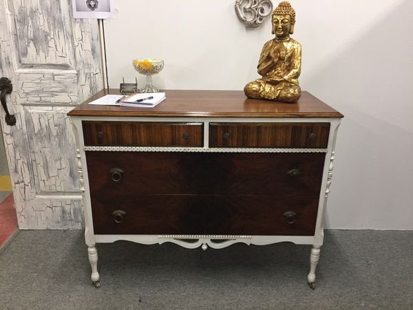 Antique Rochester made Geo. J. Michelsen Furniture Co. Dresser in Rochester,  NY refurbished by Dramatic Evolution Studios (Furniture) in Rochester, ... - Antique Rochester Made Geo. J. Michelsen Furniture Co. Dresser In
