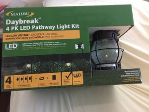 Malibu pathway light kit pack for Sale in Gaithersburg, MD