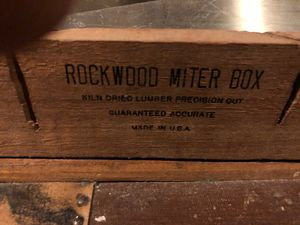 Saws with Miter Box for Sale in Tacoma, WA