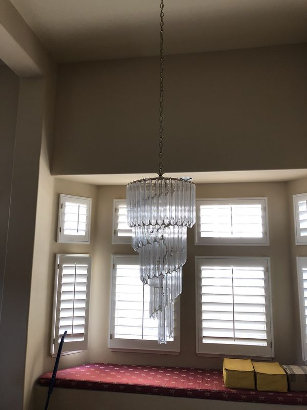Modern chandelier for sale in laguna hills ca offerup aloadofball Image collections