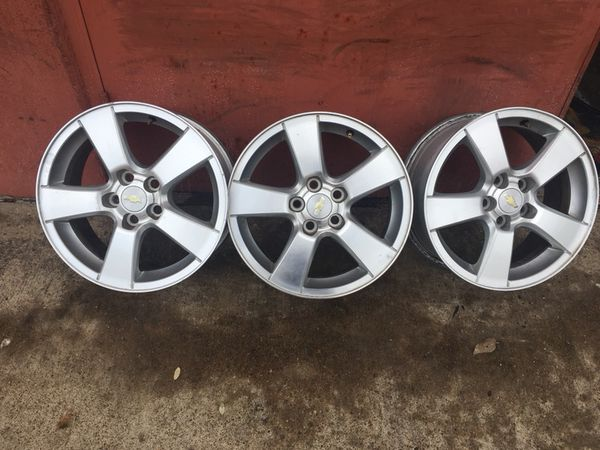 Chevy Cruze Factory Wheels 16 Inch 5 Lug Bolt Pattern 105 Mm Only