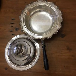 Silver Plate Pan With Lid for Sale in Atlanta, GA