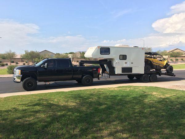 Toy hauler camper combo, krawler hauler for Sale in Mesa ...