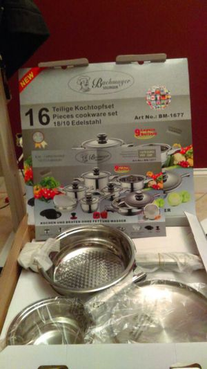 Bachmayer Solingen 16 pcs  Cookware for Sale in Bensenville, IL - OfferUp