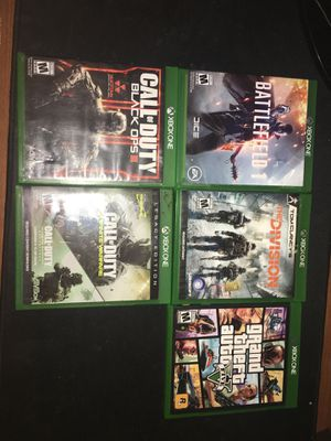Photo Xbox games lot ! All for 65 don't miss out !