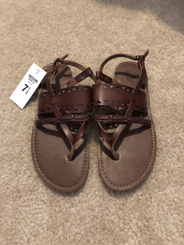 89b80550ffac Mossimo Brown Sandals size 7.5 for Sale in Waddell