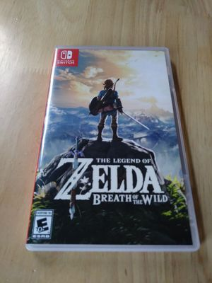 The Legend of Zelda: Breath of the Wild (NINTENDO SWITCH) for Sale in Austin, TX