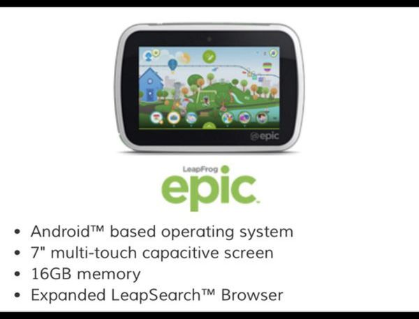 Leapfrog Epic Tablet for Sale in Port St  Lucie, FL - OfferUp