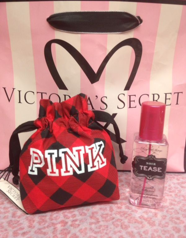 Victoria Secret PINK Perfume And Pouch Birthday Gift