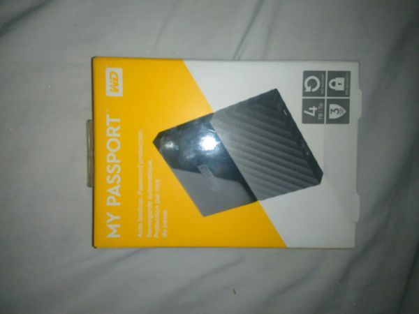 Western Digital my passport 4TB hard drive for Sale in Plano, TX - OfferUp