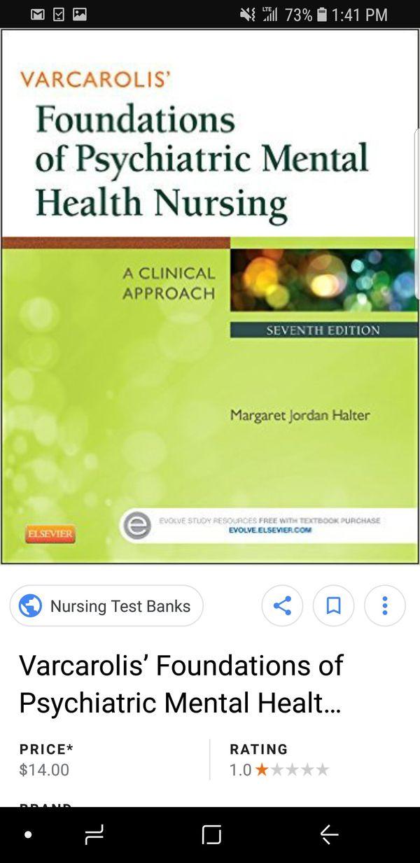Mental health nursing books for Sale in Arlington, TX - OfferUp