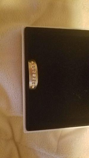 Men's size 13, 14k with 7 diamonds wedding ring for Sale in Eustis, FL