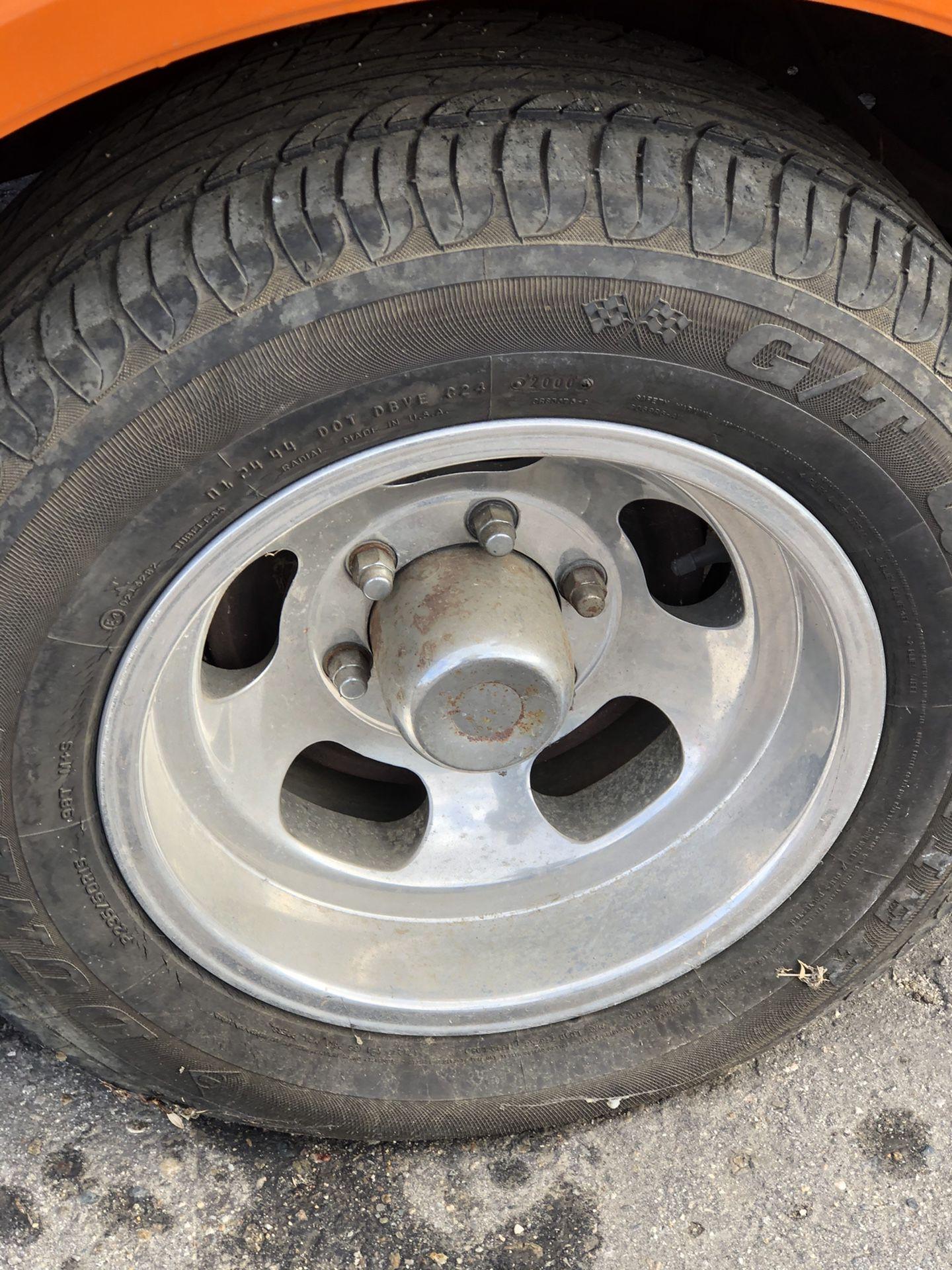 Vintage Us Indy Wheels