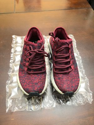 Photo Adidas Pure boost burgundy color size men's 7.5