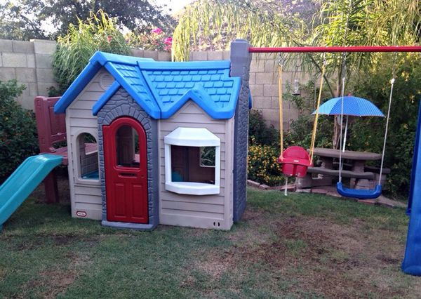Little Tikes Endless Adventures Playcenter Playhouse With Slide Climber Swing Set Extension For In Glendale Az Offerup