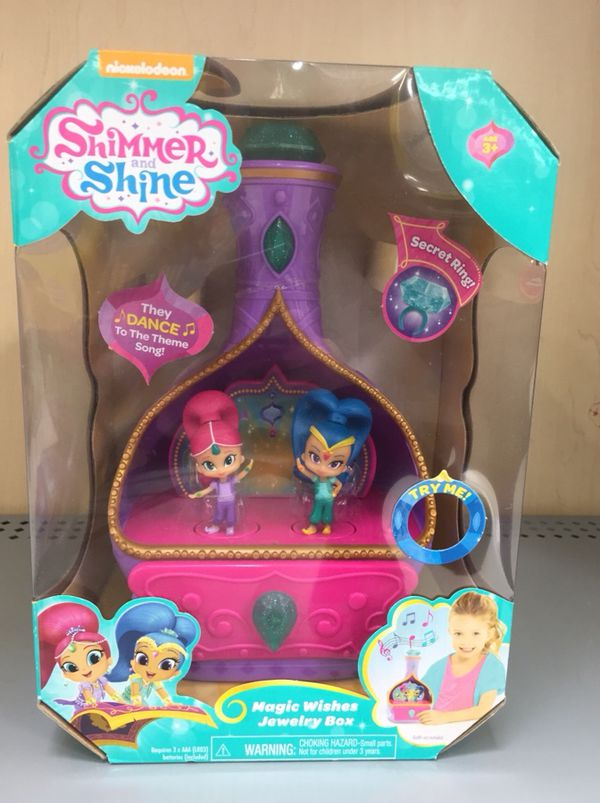 Shimmer N Shine Magic Wishes Jewelery Box for Sale in Cary, NC - OfferUp