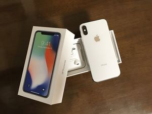 Apple iPhone X 256GB Silver Factory Unlocked - Like New for Sale in Washington, DC